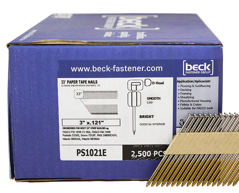 Fasco/Beck PS1021E Clipped Head Nails PS1021E