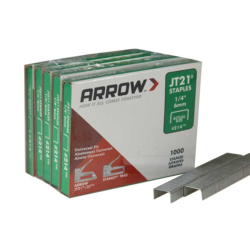 Arrow JT21 1/4 Staple JT211/4