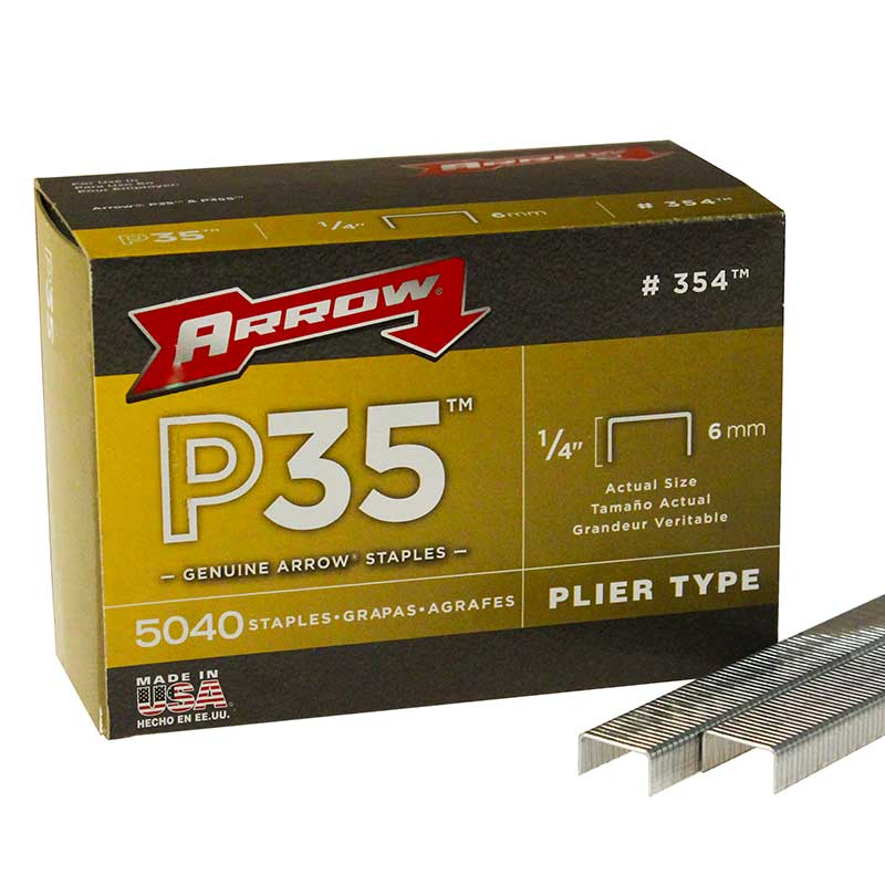 "Arrow P35 1/4"" Staples P351/4"