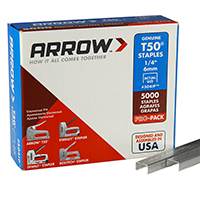 "Arrow T50 1/4"" Staple T501/4-1.25PK"