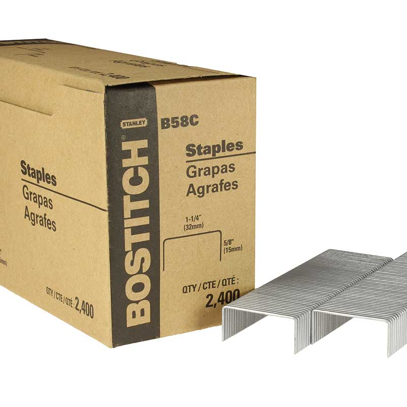 Carton Closing Staple, Stanley Bostitch B58C