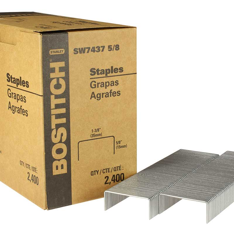 Carton Closing Staple, Stanley Bostitch SW74375--8