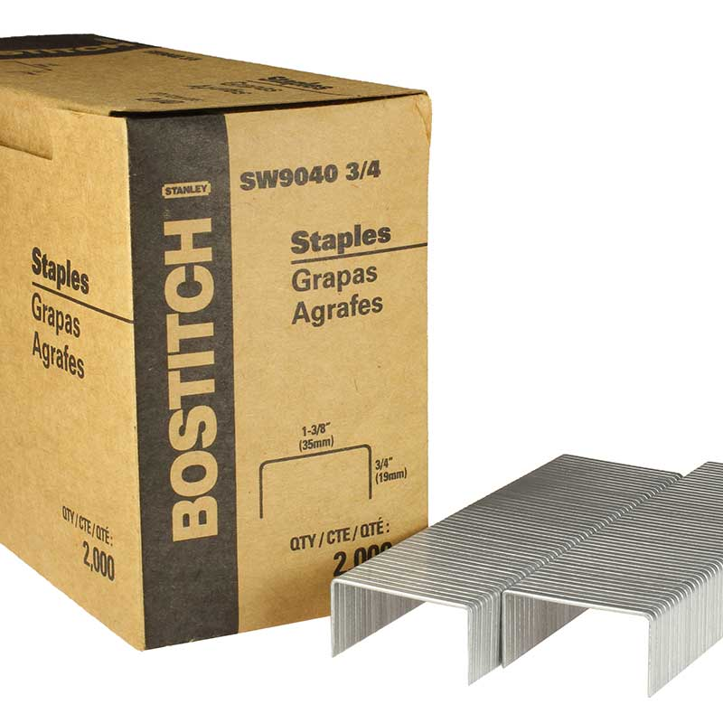 Carton Closing Staple, Stanley Bostitch SW90403--4