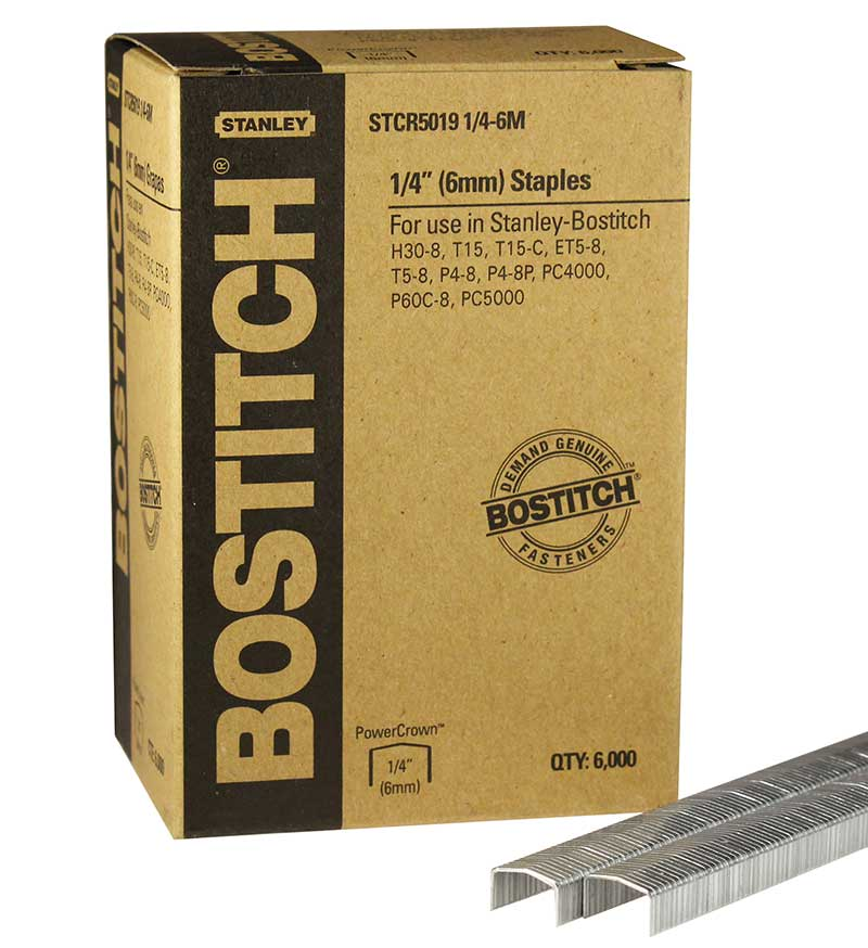 Power Crown Staple, Stanley Bostitch STCR50191/4-6M