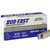 Duo-Fast 5418D-9/16 Narrow Crown Staples 5418D