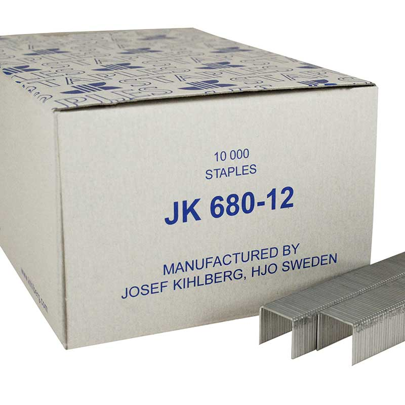 Josef Kihlberg JK680-12 Tacker Staple 680/12