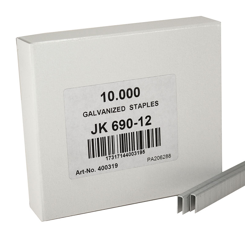 JK690/12 Fine Wire Staple 690/12