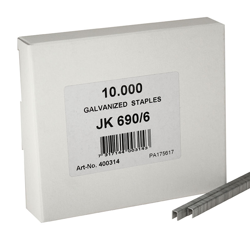 JK690/6 Fine Wire Staple 690/6