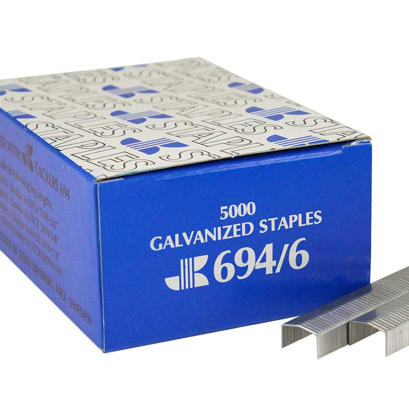 JK 694/6 Heavy Wire Staple 694/6