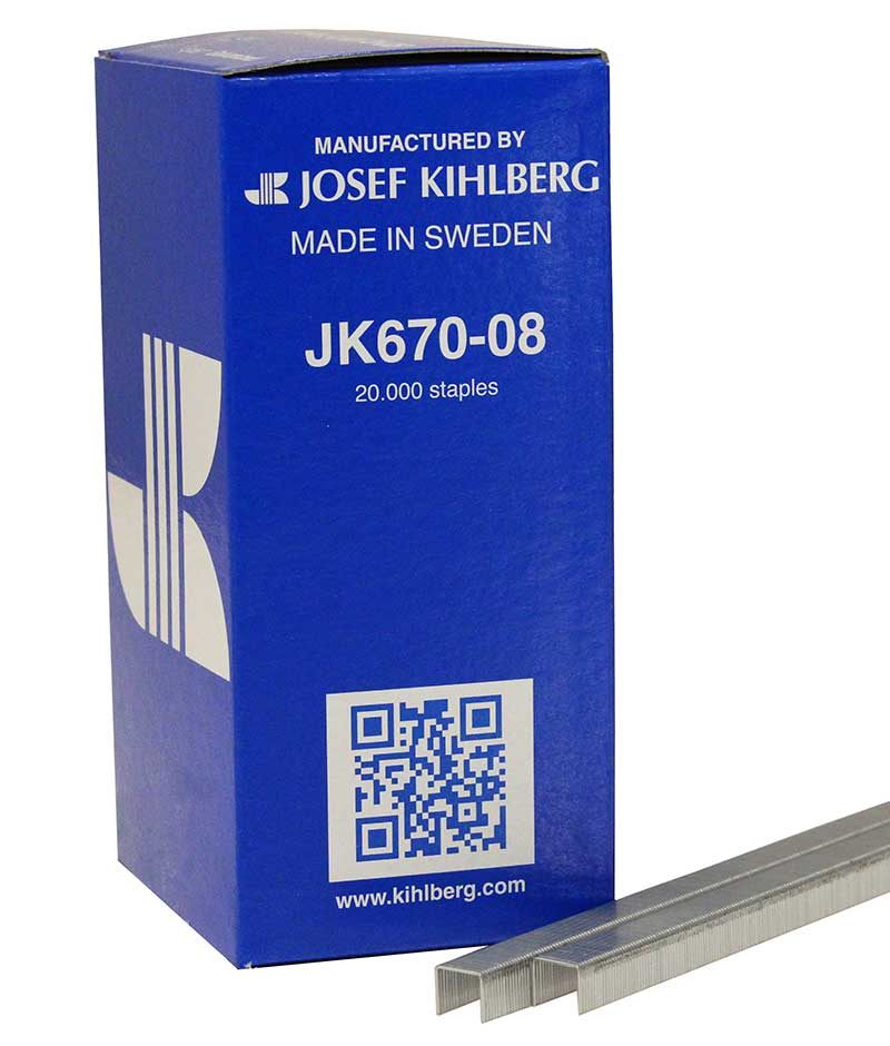 Josef Kihlberg JK670-08 Tacker Staple 670/8