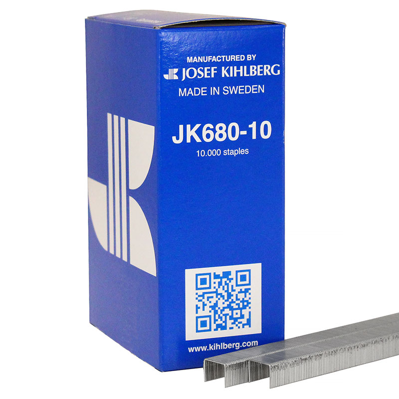 Josef Kihlberg JK680-10 Tacker Staple 680/10