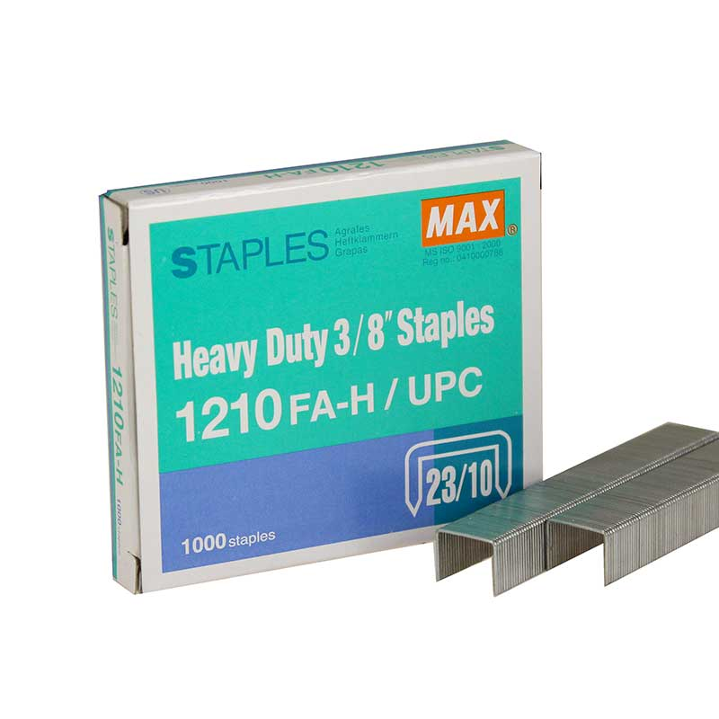 "MAX 3/8"" Heavy Duty Staples 1210FA-H"