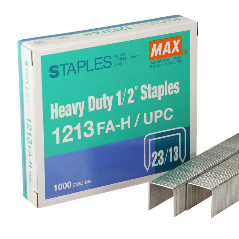 "MAX 1/2"" Heavy Duty Staple 1213FA-H"