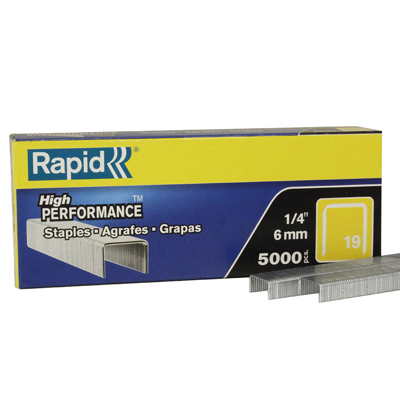 Rapid Fine Wire Staple 19/6