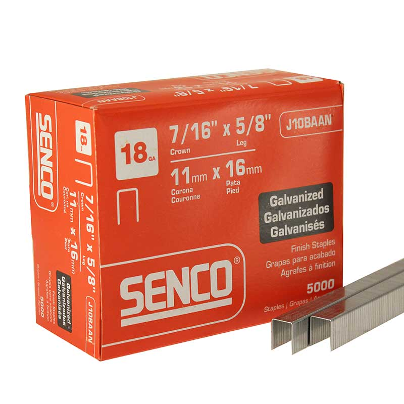SENCO J10BAAN Fine Wire Staple J10BAAN