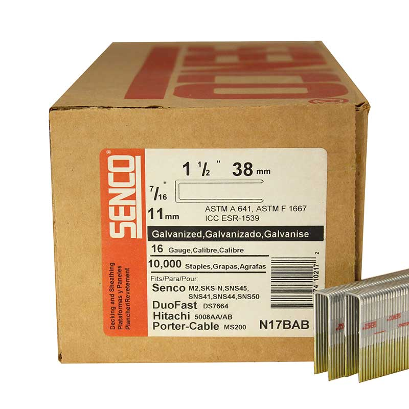 Senco N17BAB Galvanized Staple N17BAB