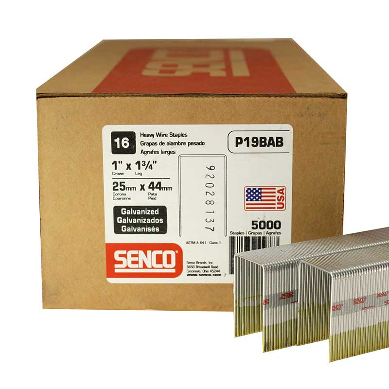 Senco P19BAB Heavy Wire Staple P19BAB