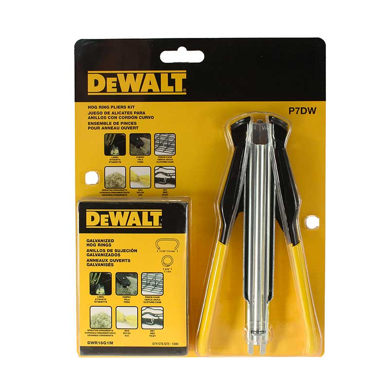DeWalt P7DW Hog Ring Pliers Kit P7DW