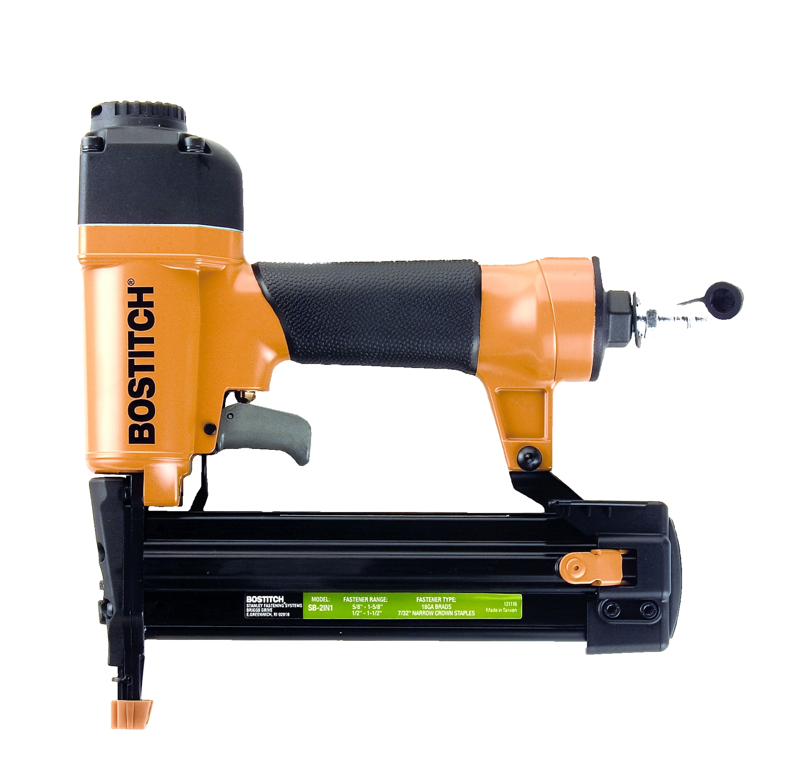 Combo Brad Nailer / Finish Stapler SB-2IN1